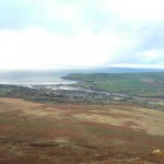 14. View out over Newport, and it's sandy bay, from the top of Carn Ingli!
