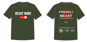 2017  Preseli Beast  t-shirt-design-template